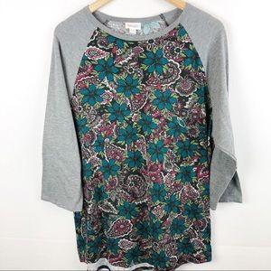 Beautiful Floral Randy LuLaRoe Top in size 2x